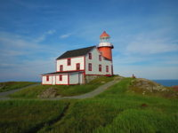Ferryland Lighthouse at Sundown