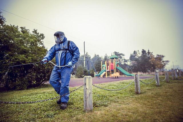 Pandemic Sprayman