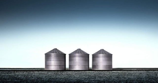The Three Grain Containers