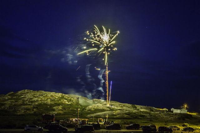Pool's Island Fireworks