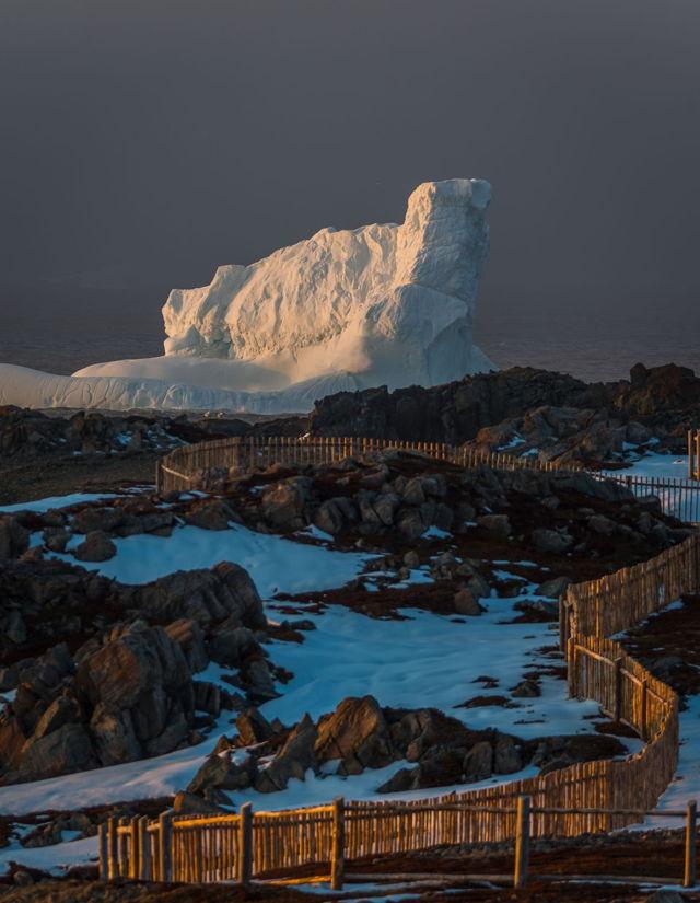Bonavista Iceberg Sunset