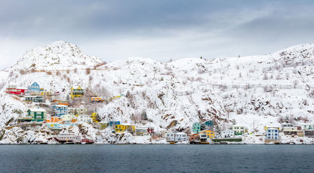 Winter In The Battery, Pano
