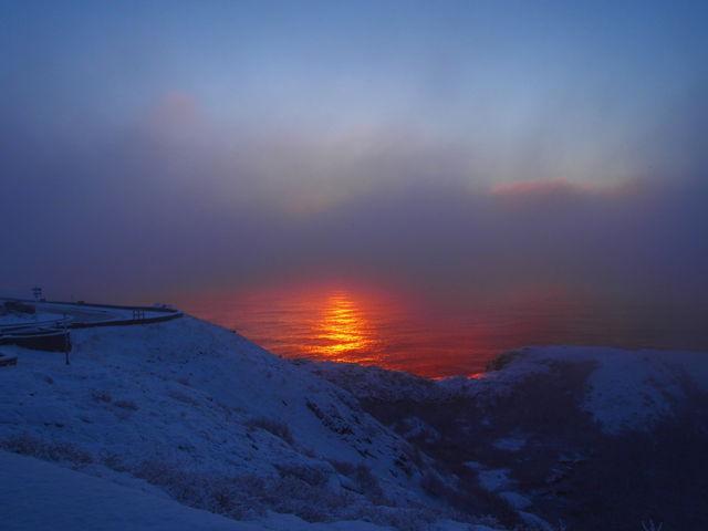 Mysterious Winter Sunrise