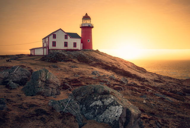 Golden Light Ferryland Lighthouse
