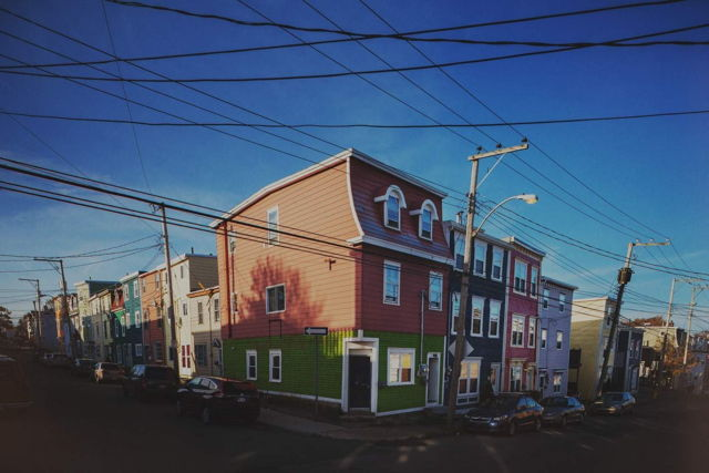 Row Houses and Wires