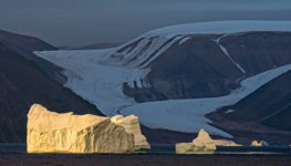 Iceberg and Glacier, Northwest Greenland