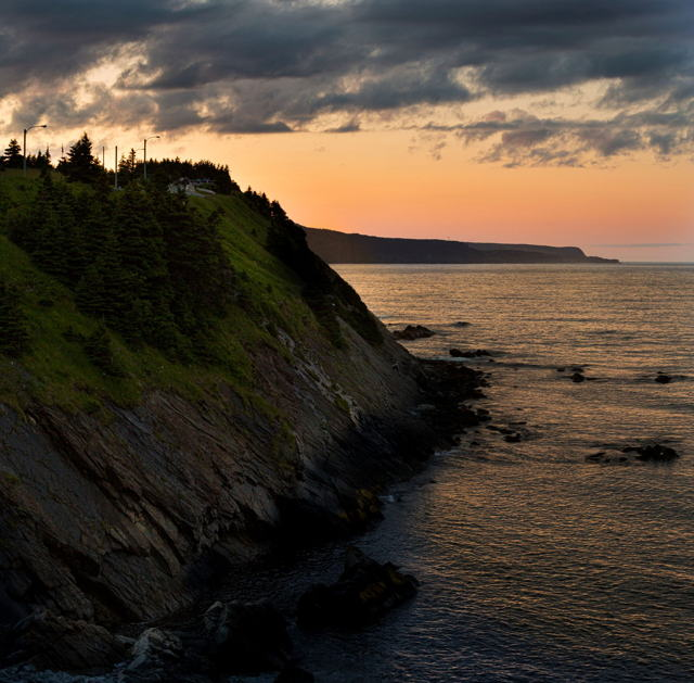 Outer Cove sunset