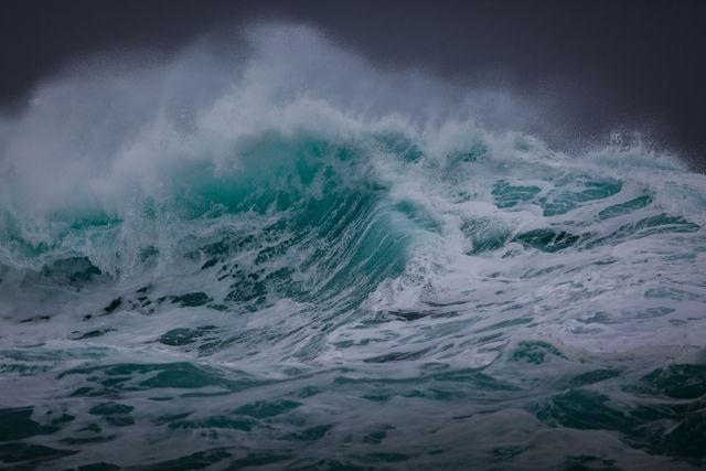 Sea in Turmoil