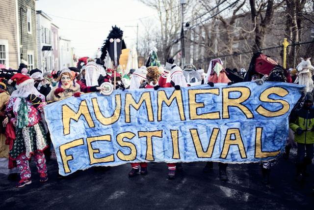 Mummers Parade St. John's Newfoundland
