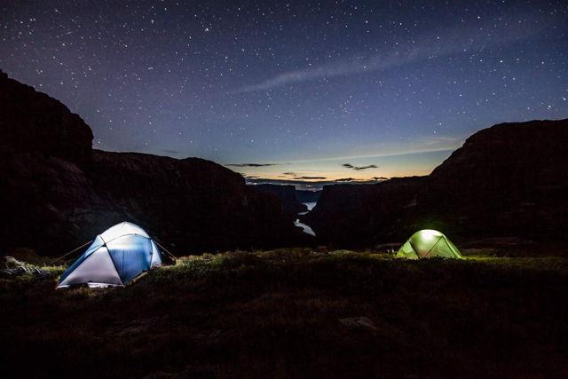 Camping at Gros Morne