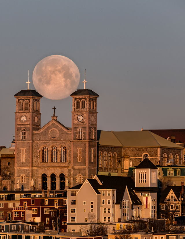St. John's Supermoon