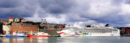 Cruise Ship - Norwegian Jewel St. Johns Harbour
