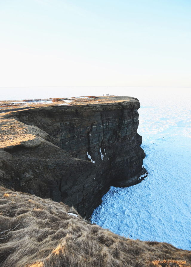 Pack Ice Surrounds Bell Island