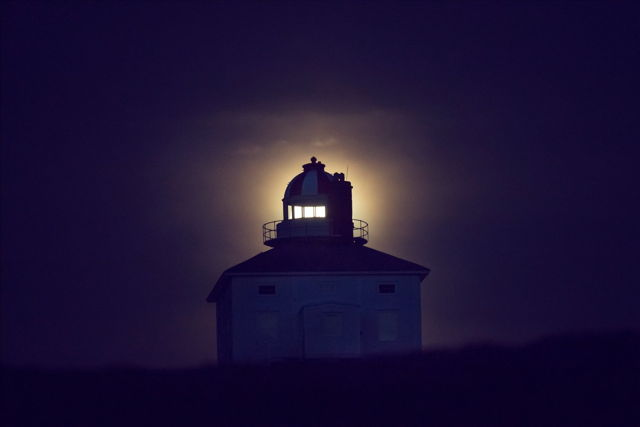 Strawberry Moon Cape Spear