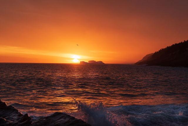 Iceberg Sunrise in Torbay