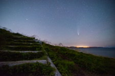 Neowise comet over Torbay