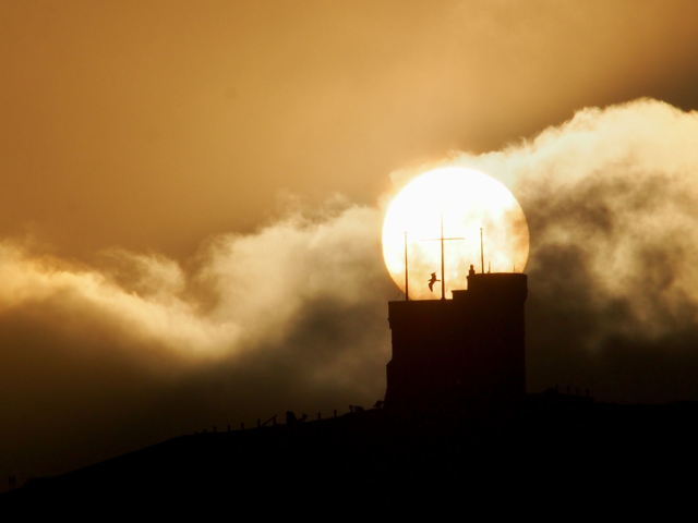 Cabot Tower sunrise