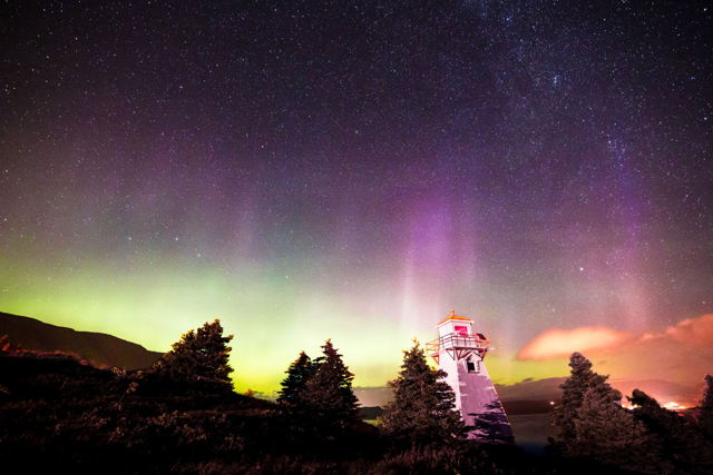 Northern Lights over Woody Point
