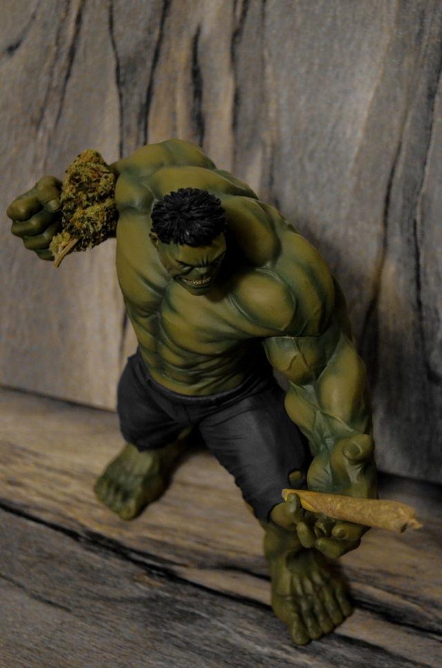 Hulk and his Stash