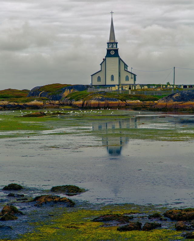 Church Across the Water