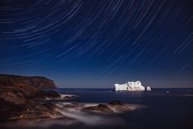Iceberg And Stars