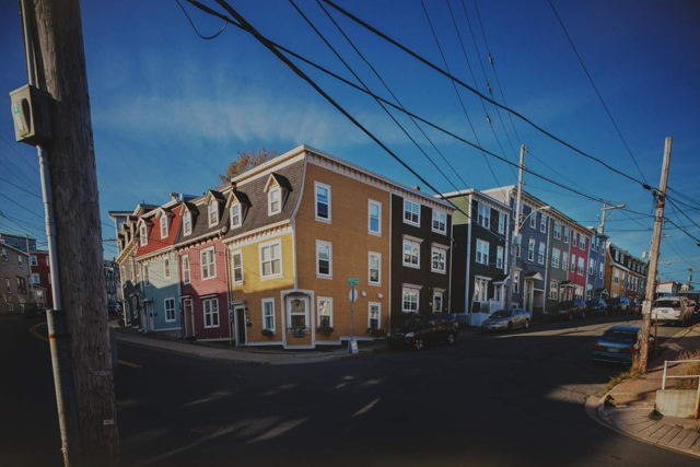 Row Houses and Wires 2