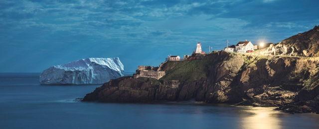 Midnight Iceberg