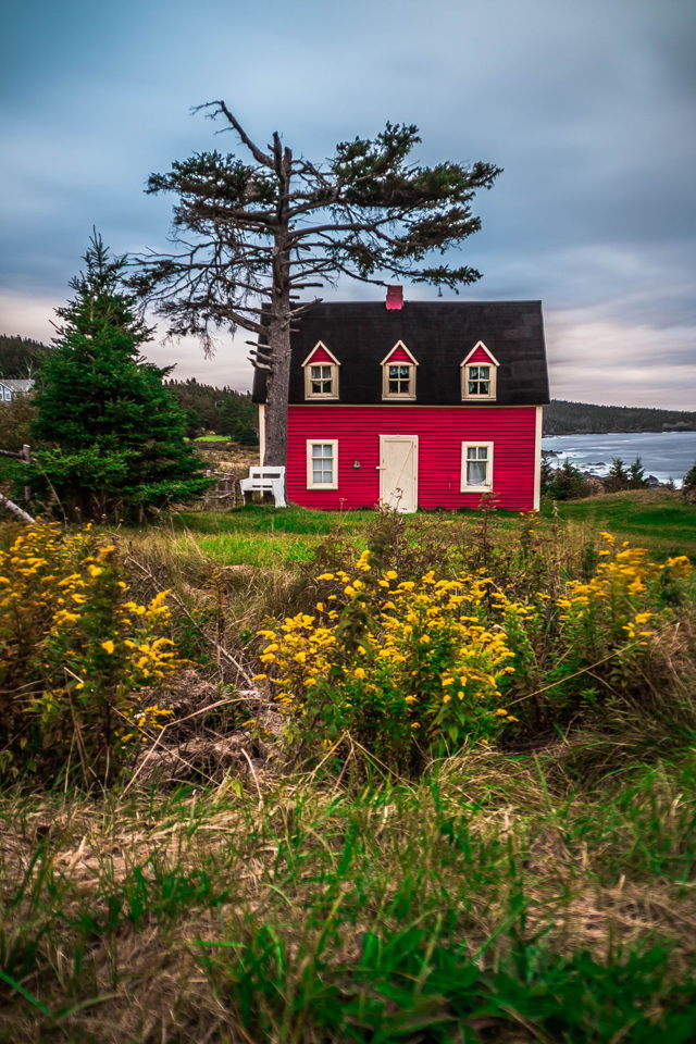 The Little Red House - Autumn