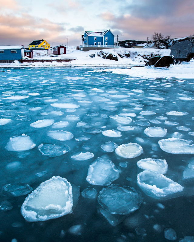 Ice Pans in the Blue