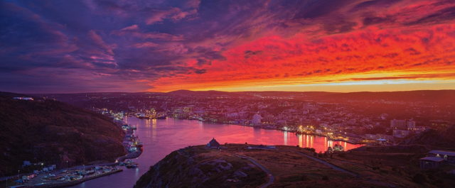 Fire Over St. John's