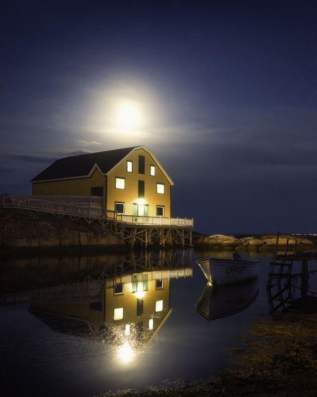 Moon Over Newtown