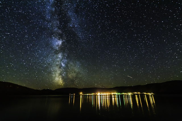 Milky Way over Woody Point