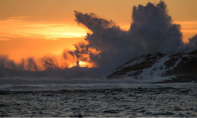 Sunrise Explosion