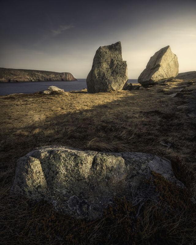 Rocks on the Beamer