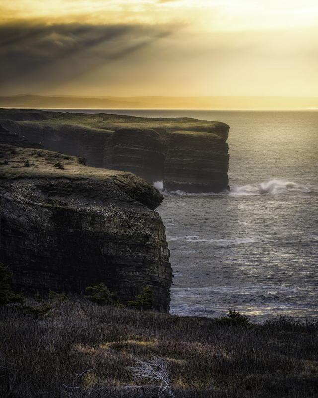 Cliffs of Bell Island