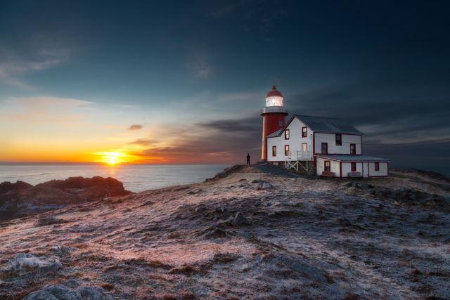 Ferryland Lighthouse Sunrise