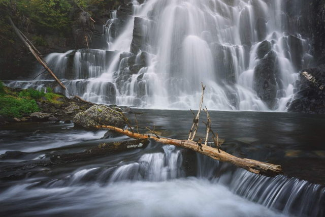 Burnt Point Waterfall 2
