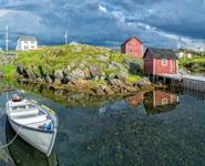 Moody Sky, Change Islands, Newfoundland