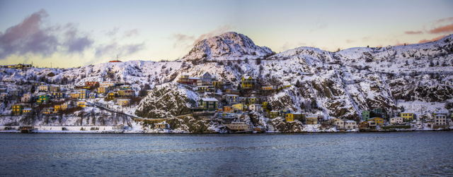 Snow Covered Battery
