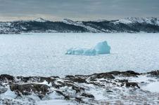 Iceberg in Pack Ice