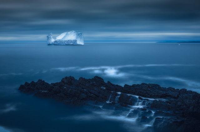 Blue Hour Berg