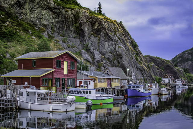 Stages at Quidi Vidi