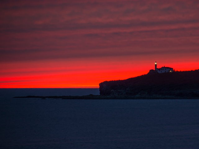 Lobster Cove Lighthouse Sunset