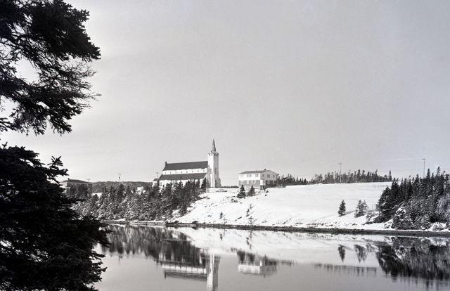 Marystown Winter Scene - early 1970s