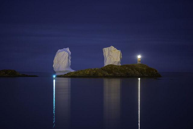 Iceberg Midnight Blue
