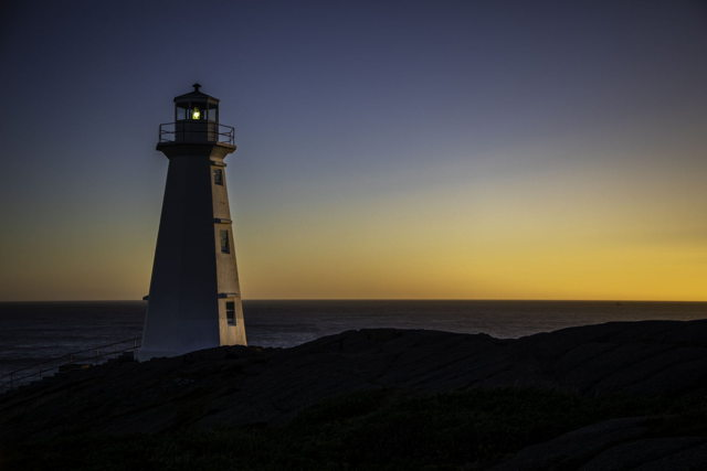 Cape Spear Lighthouse Sunrise