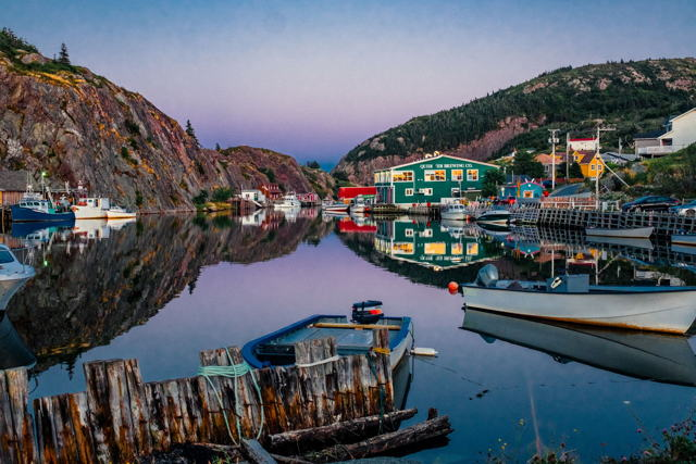 Evening Time in Quidi Vidi