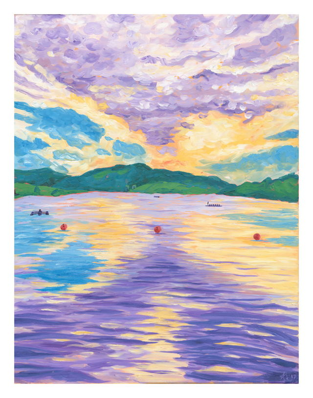 Rowing on Quidi Vidi