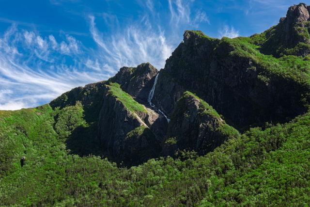 Waterfall Above