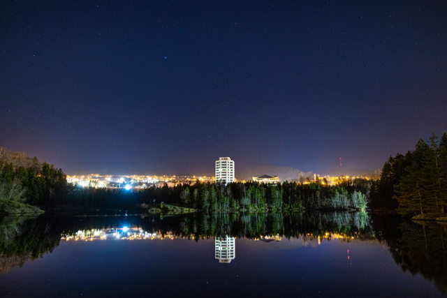 Another Calm Night in Corner Brook...
